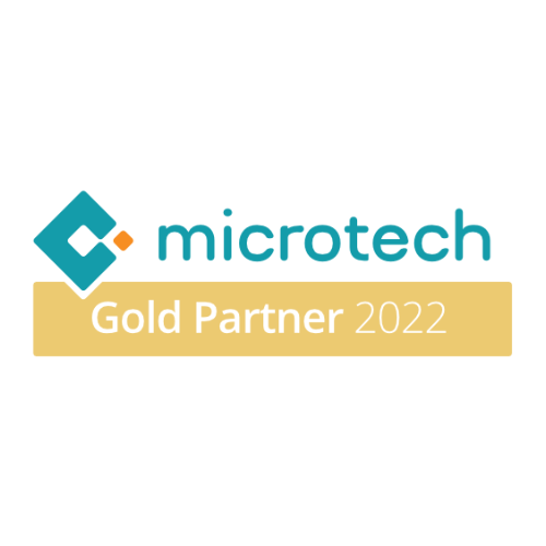microtech Goldpartner Plakette